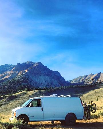 Photo CONVERTED CARGO VAN FOR SALE - $7,500 (Twin Falls)