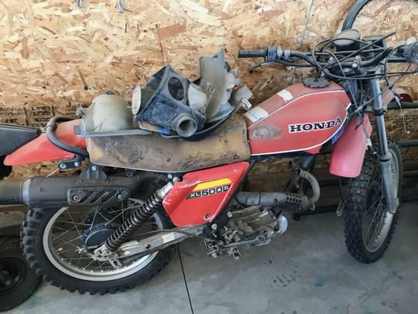 Photo Circa 1979-1981 Honda XL500S - $1,000 (Star)