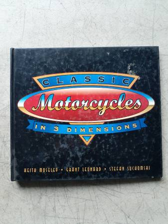 Photo Classic motorcycles in 3D - $10 (Boise)