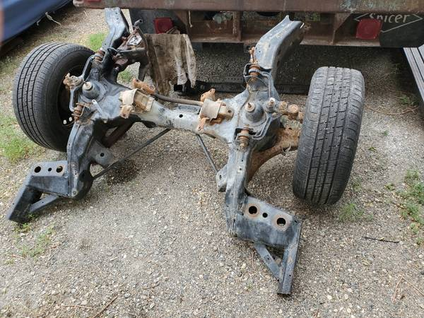 Photo Ford Crown Vic Cop front end - $500 (Picabo)