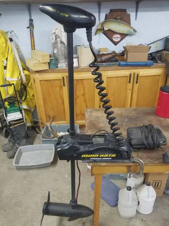 Photo MINN KOTA POWER DRIVE 12V BOW MOUNT - $350 (Gooding)