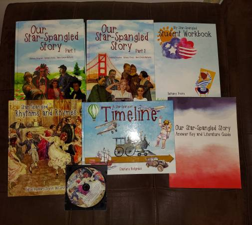 Photo Our Star-Spangled Story, Notgrass History Curriculum - $65 (Franklin  Five Mile)