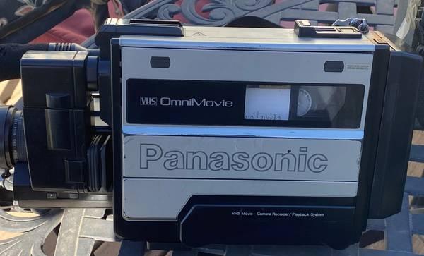 Photo Panasonic Omnimovie Camcorder VHS (Twin Falls)
