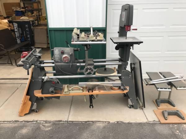 Photo Shopsmith Mark V (5) Complete Woodshop Multi-Tool Plus addons - $2,700 (Twin Falls, ID)