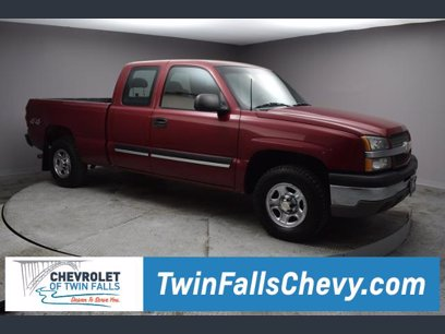 Photo Used 2004 Chevrolet Silverado 1500 4x4 Extended Cab LS for sale