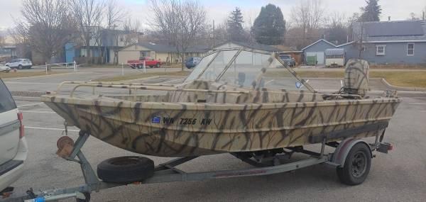 Photo 17.5 ALMAR Aluminum JET BOAT Turn Key Ready - $7,400 (Boise)