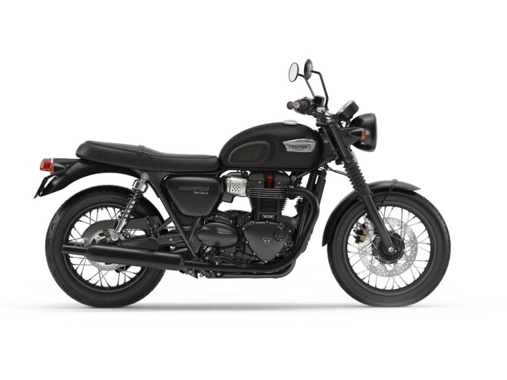 Photo 2020 Triumph Bonneville T100 Black Matte IrostoneMatte Black $10700