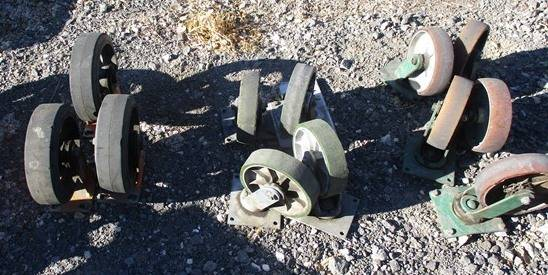 Photo used 8quot heavy duty casters - $15 (Buhl)