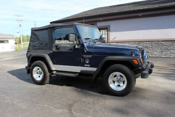 Photo 2005 Jeep Wrangler X Stock 1501 - $12,677