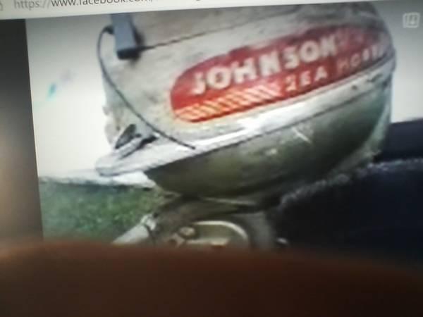 Photo 2.5 johnson outboard motor - $125 (harborcreek)