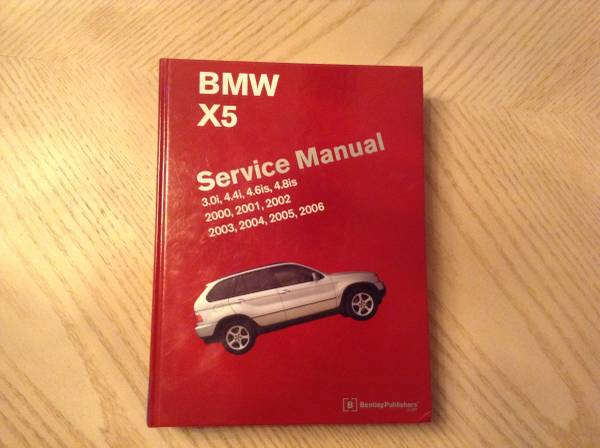 Photo BMW X5 Service MANUAL 2000-2006 Hardcover - $100 (Colden,NY)