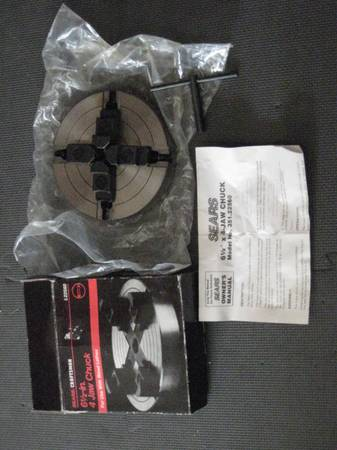 Photo BN Craftsman 6 12quot 4 Jaw Chuck for Wood Lathe - $75 (Lancaster NY)