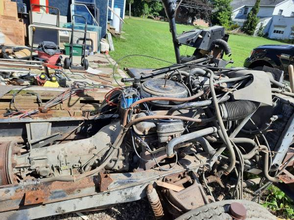 Photo Chevy 454 engine and transmission - $2,750 (Franklinville)