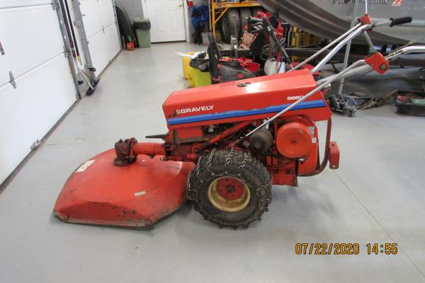 Photo Gravely Walk Behind Brush Cutter - $1000 (Ulysses, PA)