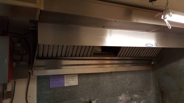 Photo Larkin commercial hood vent and air intake system with Ansul fire - $5000 (Duke Center, Pa.)