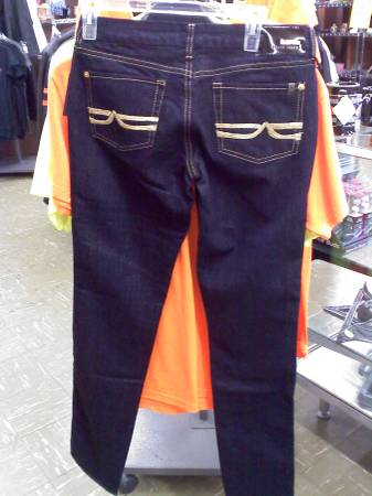 New David Bitton Ladies Buffalo Jeans - $14 (Arcade) - $14 (Arcade)