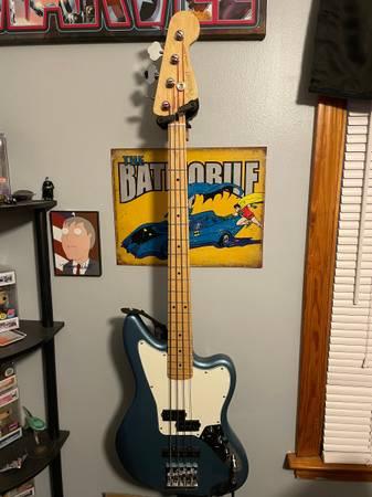 Photo New Upgraded Fender Jaguar Bass - $800 (Buffalo)