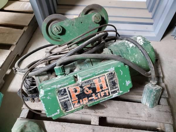 Photo PH Zip Lift Elec. Hoist - $100 (Allegany NY)