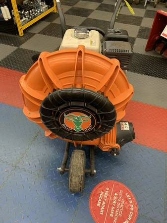 Photo Used Billy Goat Gas Walk Behind Parking Lot  Leaf Blower Honda Power - $1,650 (Buffalo New York)