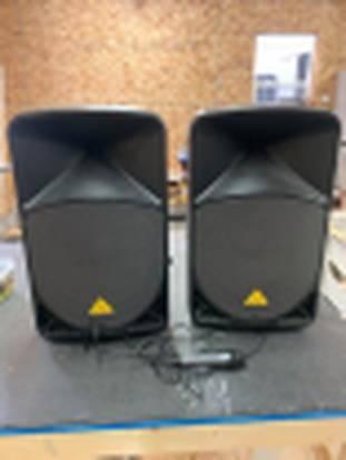 Photo 1000 watt 15 inch powered DJ speakers - $250 (brimley)