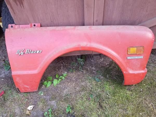Photo 1969 Chevy Blazer fender - $50 (Harvey)
