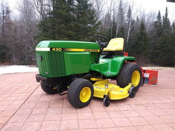 Photo 430 John Deere dieselattachments - $7500 (Park Falls)