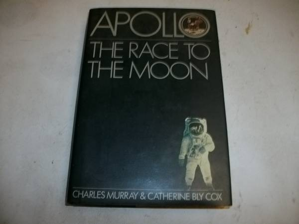 Photo Apollo quotThe race to the moonquot 1989 science  history hardcover - $5 (oshkosh)