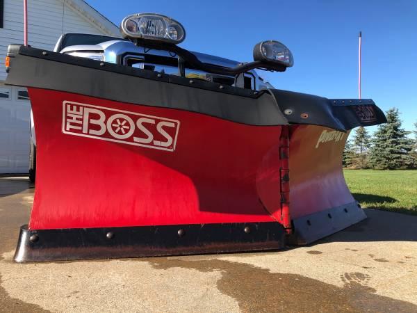 Photo Boss 82 Power-V XT Snowplow Snow Plow - $4,750 (Big Bay)