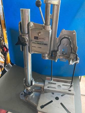 Photo Craftsman Heavy Duty Drill Press Stand - $50 (Marquette)