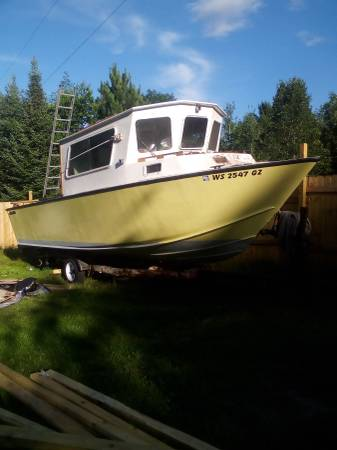 Photo Custom built 2539 Fishing Boat (Upper Michigan)