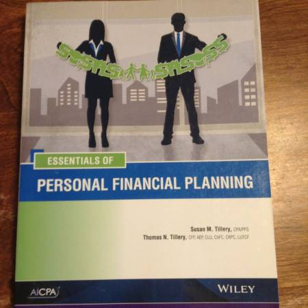 Photo Essentials of Personal Financial Planning (AICPA) - $100 (Chassell)