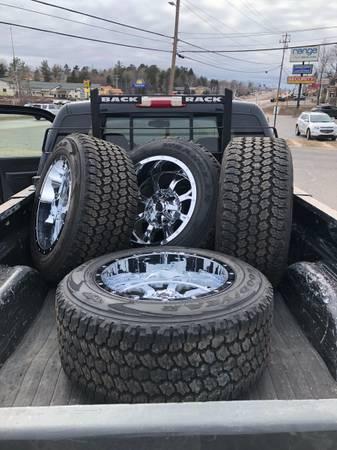 Photo Fuel 6 Lug 20 Wheels Tires Chevy GMC GM - $1,750