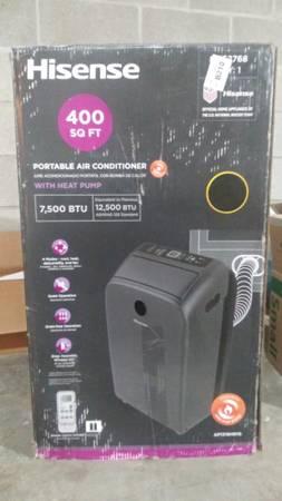 Photo Hinsense portable air conditioner with heat pump - $200 (GLADSTONE)