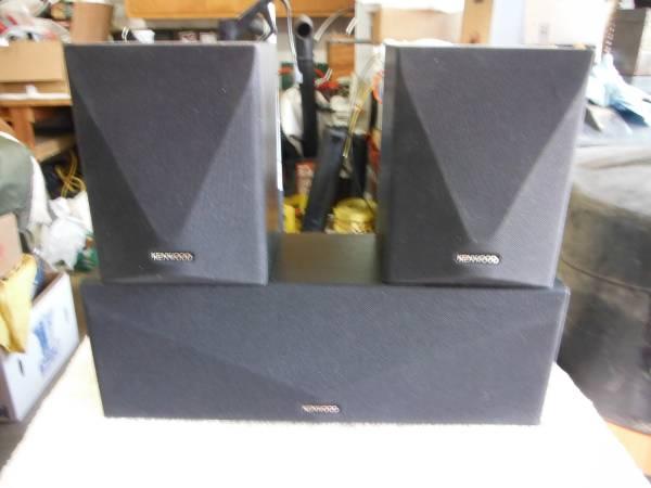 Photo KENWOOD SURROUND SOUND SPEAKER SYSTEM - $50 (OSHKOSH)