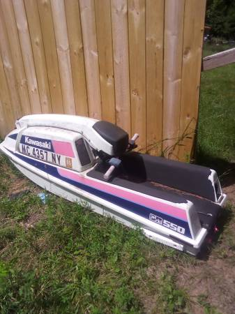 Photo Kawasaki 550 Stand-up Jet Ski - $600 (Upper Michigan)