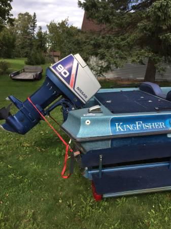 Photo King fisher boat - $3,500 (Calumet)