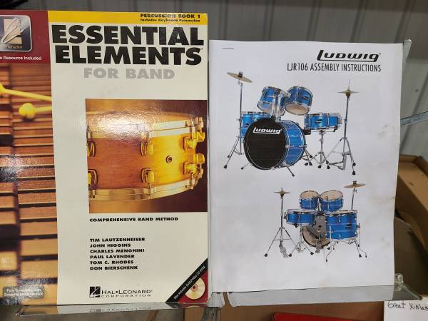 Photo LUDWIG 5-pc Drum Set - $300 (Boyne City)