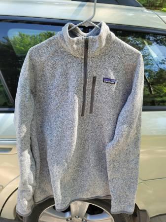 Photo Patagonia M39s Better Sweater 14 Zip Jacket - $60 (Interlochen)