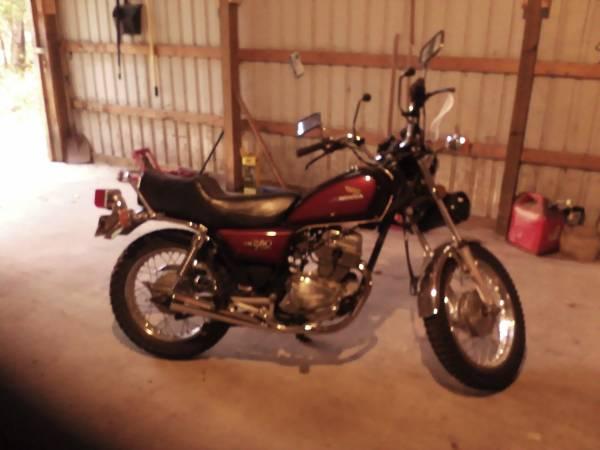Photo Reconditioned 84 Honda 250 Custom - $1,800 (Traverse City)