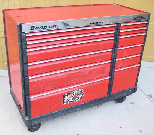 Photo Snap On Snap-On Tool Chest KB2001 Roll Cab Series 2000 - $750 (Watersmeet, MI)