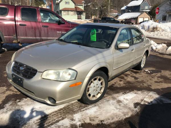 Photo Special - 2001 Nissan Maxima 95,000 mi. Credit Cards Accepted - $1795 (Hancock)
