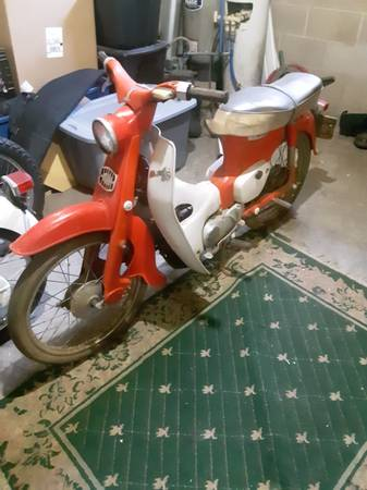 Photo Two 1964  1965 Honda Super Cubs - $800 (Houghton)