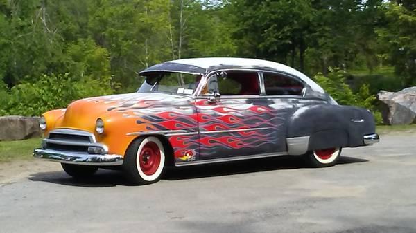 Photo 1949 Chevy fleetline - $17500 (Middleville)