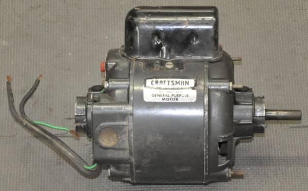 Photo CRAFTSMAN GENERAL PURPOSE 13 HP CAPACITOR MOTOR 113.19706 1970 H689 - $75 (Sylvan Beach)