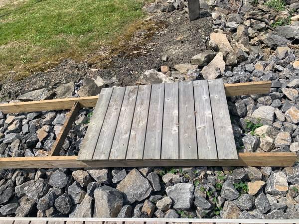 Photo Cedar Boat Dock sections - $400 (Richfield Springs)