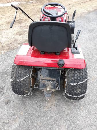 Photo Craftsman Garden Tractor With Plow - $650 (rome)
