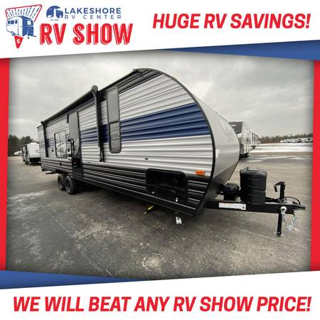 Photo FOREST RIVER GREY WOLF 26RR TOY HAULER TRAVEL TRAILER RV LAST ONE
