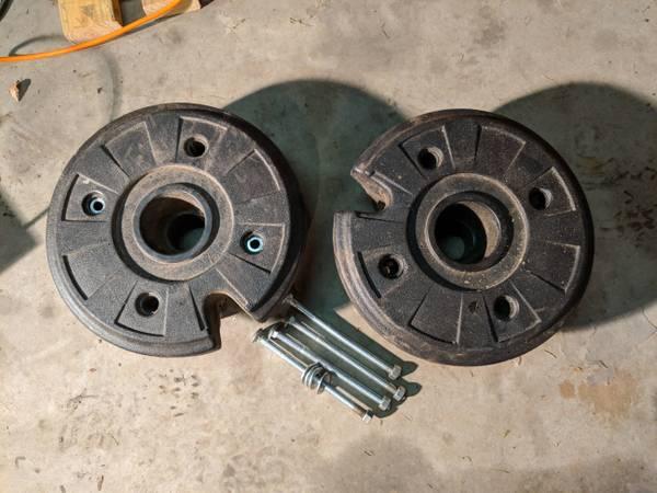 Photo Garden Tractor Wheel Weights - $75