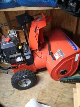 Photo NEW PRICE 26quotSimplicity Snowblower - Electric Start 1150 Engine - $400 (Oriskany)