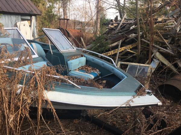 Photo Old boats, motors trailers - $500 (Remsen)